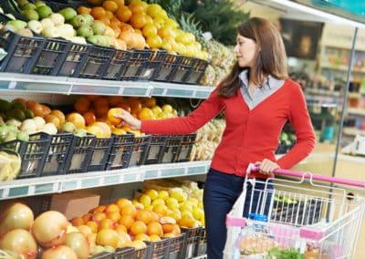 Einkaufstraining – gesund shoppen