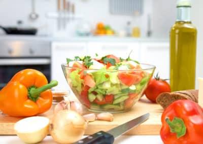 Gesunde Mittagspause
